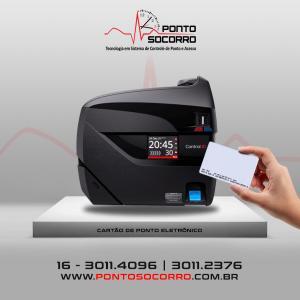 Cartão de ponto eletronico preço