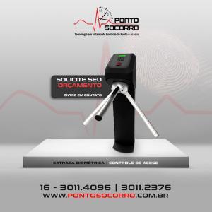 Catraca biométrica preço