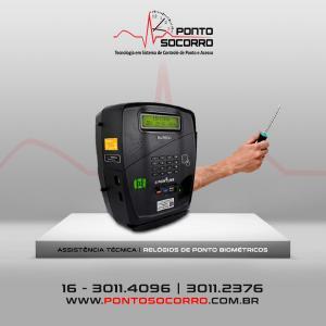 Conserto de relógio de ponto biométrico