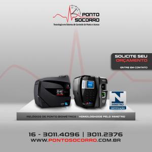 Relógio de ponto biométrico homologado preço