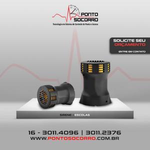 Sirenes eletronicas preço