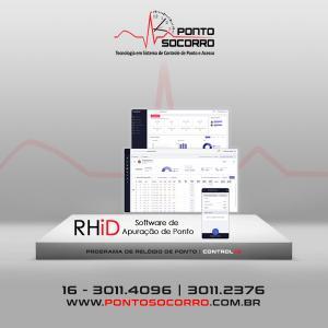 Software para controle de ponto por biometria
